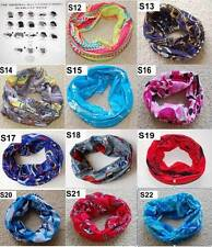 Bike Cycling Bicycle Outdoor Sport Hiking Head Scarf Headband Bandana coloured#