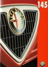 Alfa Romeo 145 1996-97 UK Market Sales Brochure 1.6 L 2.0 Cloverleaf