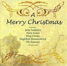 A Merry Christmas CD by Various Artists Patti Page Julie Andrews Perry como