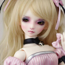 Evol DollLove 1/4 Girl doll MINI SUPER DOLLFIE MSD BJD FREE make-up eyes fur wig