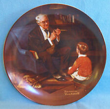 Knowles Collector Plate The Tycoon Norman Rockwell