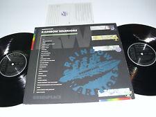 GREENPEACE RAINBOW WARRIOR - 2x LP GERMANY - U2 Sting INXS Peter Gabriel R.E.M.