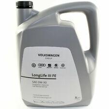 Original VW Skoda Motoröl 0W30 50400 50700 LongLife III FE GS55545M4EUR 5 Liter