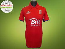 England Cricket 2012/13 M/L ONE DAY ODI T20 ADIDAS Brit insurance CRICKET SHIRT