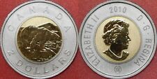 Specimen 2010 Canada 2 Dollars From Mint's Set