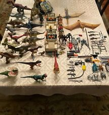 Jurassic Park Dinosaurs, Action Figures and Vehicles - Jumbo Lot Over 40 Pieces