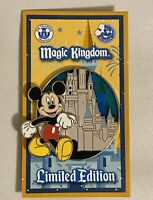 New Disney Parks 2020 Magic Kingdom Mickey Mouse Castle Passholder Pin LE 2500