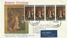 1969 New Zealand FDC covers Christmas