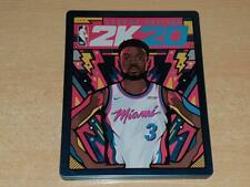 NBA 2K20 Legend Edition Limited Edition Steelbook Case Only G2 (NO GAME)