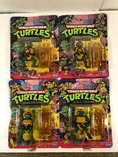 Vintage Teenage Mutant Ninja Turtles TMNT Set of 4 Figures Playmates 1988 NEW