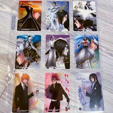 Bleach Anime Clear Card Collection vol1 Complete Sps + Signed cards Set Of 21