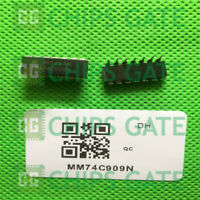 2PCS MM74C909N Encapsulation:DIP-14,QUAD COMPARATOR