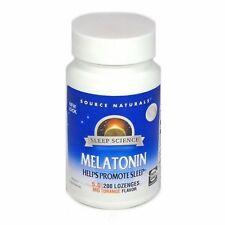 Source Naturals Melatonin 5mg Sublingual Orange - 200 tab