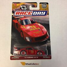 '78 Porsche 935-78 * Car Culture 2017 Hot Wheels Race Day Case J