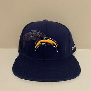 Los Angeles Chargers Reebok On Field Stretch Fitted Hat NFL Football New S/M