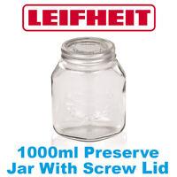 Leifheit 1000ml Preserve Jar With Screw Lid 36303