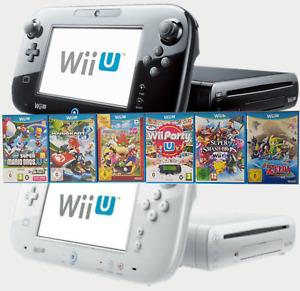 Nintendo Wii U Konsole nach Wahl Mario Kart, Zelda,Smash Bros, Party,