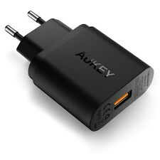 AUKEY Chargeur Secteur Quick Charge 3.0 USB Rapide 19,5W Mural iPhone Samsung
