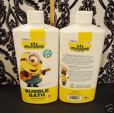(4) Minions Banana Scented Bubble Bath with Vitamin E 16 fl oz Smells Great!