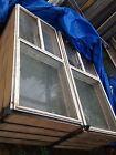 8 X STEGBAR Aluminium Sliding Windows w 110mm Timber Reveals - Bargain $250 ea!