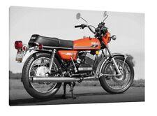 Yamaha RD350 - 30x20 pouces Toile Encadré Photo Print POSTER