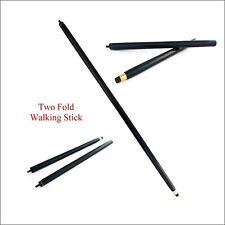 Vintage 2 Fold Wood Walking Stick Cane Only For Cane Handle (Only wooden shaft)
