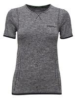 Funktionsshirt CRAFT Active Comfort, Damen, Kompression, Kurzarm, schwarz grau