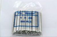 200pcs White 1 x 40pin 2.54mm Single Row Breakaway Male Pin Header for Arduino