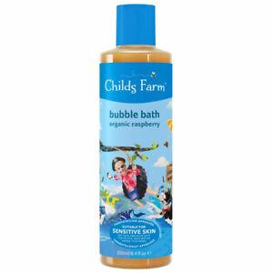 Childs Farm Organique Framboise Bulles Bain 250ml