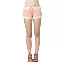 2016 NWT WOMENS ELEMENT JULIAN SHORTS $35 M coral french terry lounge short