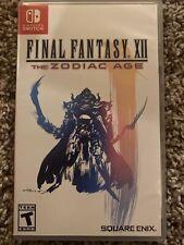 New listing final fantasy 12 zodiac age switch