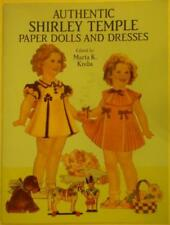 """New listing 1991 """"Shirley Temple"""" Paper Doll Book 9.25 x 12.25 inch Lot 163"""