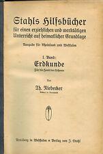Niebecker, la geografía alin Renania u Westfalia, stahls auxiliares libros Arnsberg 1912