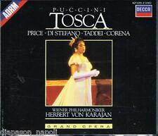 Puccini: Tosca / Karajan, Price, Di Stefano, Taddei, Corena - CD