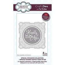SUE WILSON SPECIAL OCCASION HAPPILY EVER AFTER DIE SET BY CREATIVE EXPRESSIONS