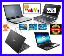 CHEAP FAST i3 i5 i7 WINDOWS 7 & WINDOWS 10 LAPTOP 4GB-16GB RAM HDD SSD WARRANTY