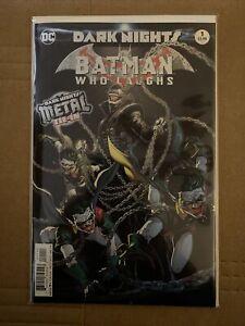 DARK NIGHTS BATMAN WHO LAUGHS #1 (2019 DC) VF+ (Dark Nights Metal Tie-In)