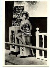 Young Model w/ Camera-Kodak Film Prop-Postcard Rack-Historic Picture-Modern Card