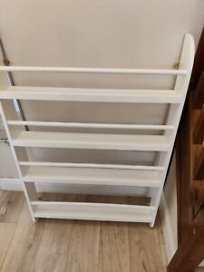 Great Little Trading Company bookcase (wall-mounted, white, used)
