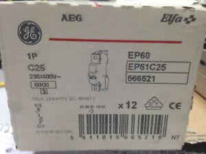 Leitungsschutzschalter  , Sicherung , Automat AEG C25 A
