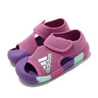 adidas Alta Venture I Solar Pink Purple Infant Baby Sandal D97198
