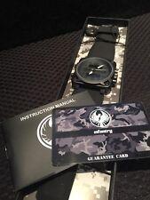 INFANTRY Mens Army Sport Quartz Digital / Analog Smoked Dial Watch Wow!