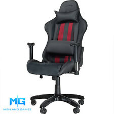 Pro Video Gaming Chair | Speedlink Regger PC/PS3/PS4/Xbox | Black/Red