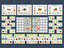 Food - Game & Question Cards - Autism / Speech & Language / EYFS / School / SEN