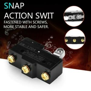Roller Lever Micro Switch Short Hinge Supplies -25℃~80℃ 15A 250V BM-1704