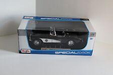 NEW Maisto 1957 Chevrolet Corvette Black Special Edition 1/18 Diecast Metal patr