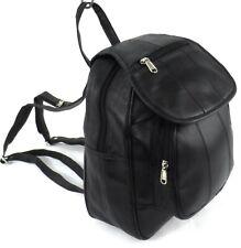 Womens Genuine Real Leather Rucksack Backpack Shoulder Fashion Hand Bag Purse UK