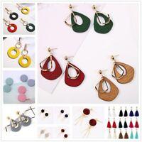 Women Tassel Flower Dangle Drop Long Earring Girls Vintage Jewelry Fashion Gifts