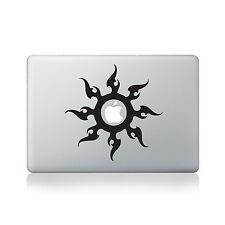 Tribal Sun Vinyl Macbook Decal / Macbook Decal / Transfer / Laptop Decal
