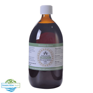 Black Seed Oil 'ORIGINAL'   The Blessed Seed®   1000ml (1L) - non-GMO
